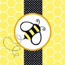 buzz-bumblebee-napkin-t6517
