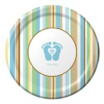 tiny-toes-cake-plate-blue-t3357